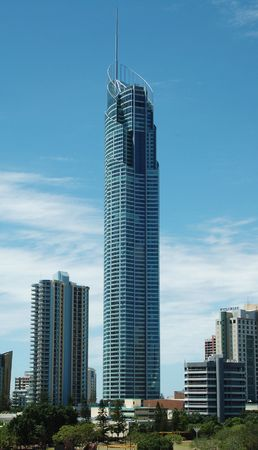 tallest: Q1 - Worlds Tallest Residential Building on the Gold Coast in Queensland, Australia
