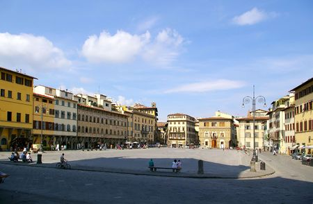 typical: Typical Architecture of Florence Italy