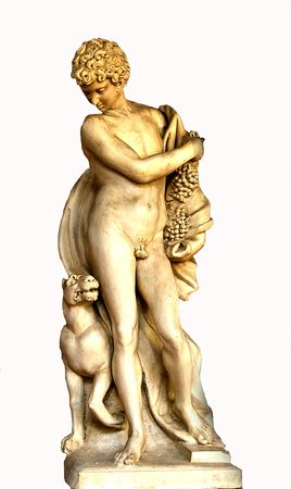 bacchus: Bacchus from Bargello museum Florence Tuscany