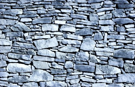 ps: Old stone wall background - Toned in PS