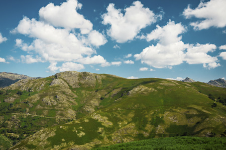 moutains: Big moutains with blue sky lanscape Stock Photo
