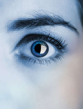 see  visionary: Picture of a female eye manipulated on PS.