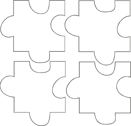 missing piece: Puzzle Illustration