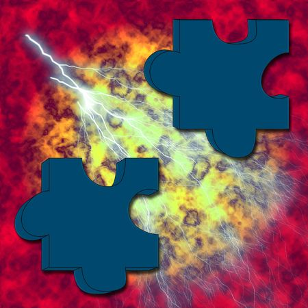 graphicals: Puzzle on fire