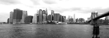 viewed: The Manhattan skyline viewed from Brooklyn