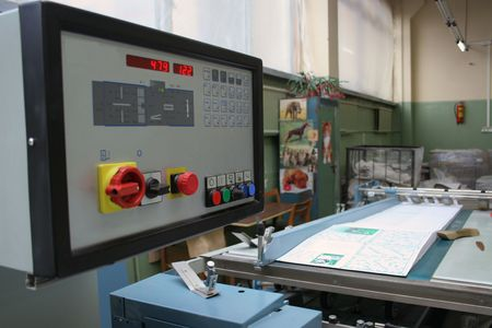 polygraphic: Different printed machines and polygraphic equipment