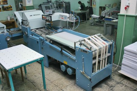 Different printed machines and polygraphic equipment Stock Photo - 560000