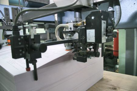 Different printed machines and polygraphic equipment