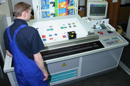 commerce and industry: Different printed machines and polygraphic equipment