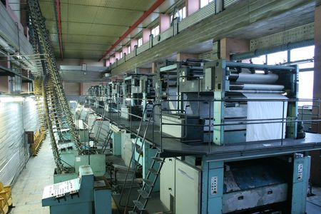ofset: Different printed machines and polygraphic equipment
