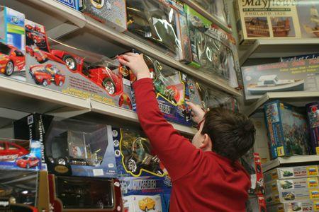 gezin, man, kind, kinderen, vrouw, kopen, cristmas, boeken, shoping
