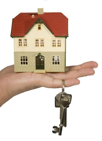 estate, real, house, sales, key, home, new Stock Photo