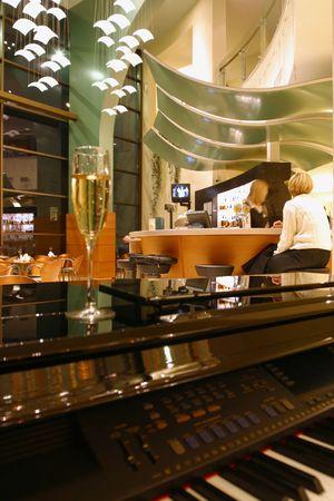 interior cafe Stock Photo - 679202