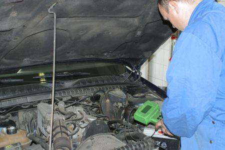 Auto service Stock Photo - 703536