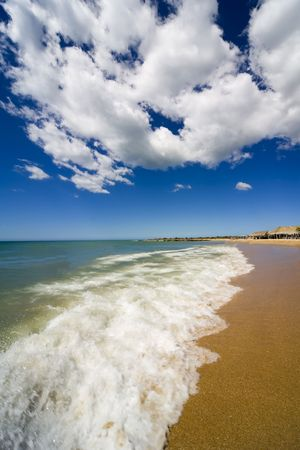 Beach on island Margarita, Venezuela Stock Photo - 774429