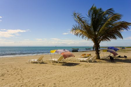 Beach on island Margarita, Venezuela photo