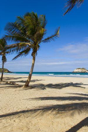 Strand op eiland Margarita, Venezuela