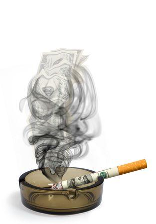 Smoke - a money on wind
