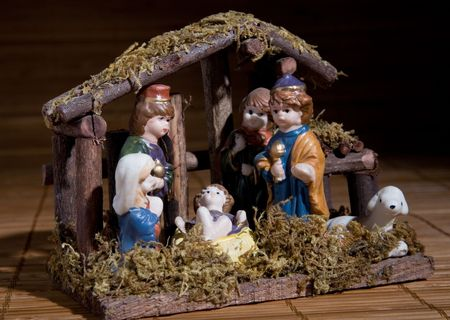christmas still life with a traditional Bethlehem Stock Photo - 5034796