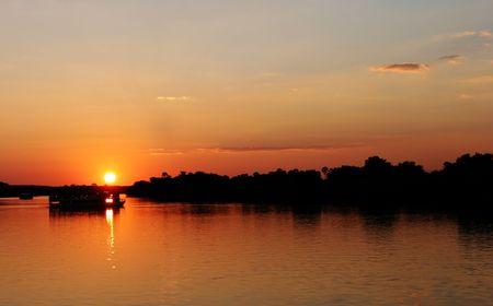zimbabwe: Sunset in Zimbabwe