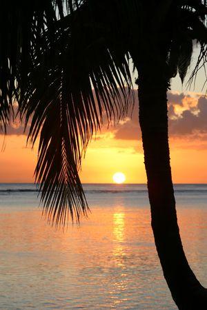 Sunset over Mauritius Stock Photo - 251329