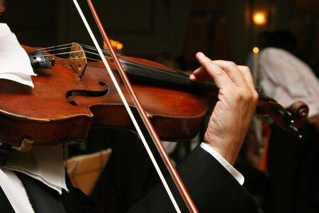 Violin beeing played