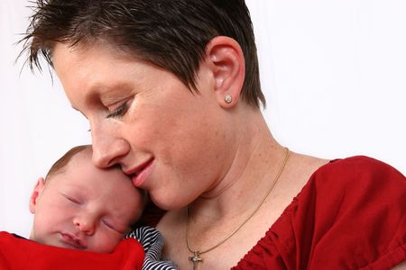 Baby and mother Stock Photo - 329451