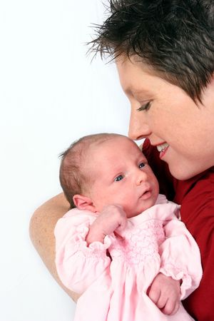 Baby and mother Stock Photo - 344533