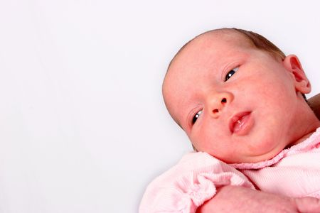 Young baby on her firts shoot Stock Photo - 344516