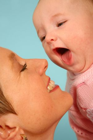 Just laughing together Stock Photo - 451615