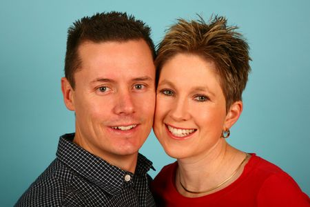 Couple standing close together Stock Photo - 523804