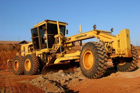 Big construction equipment