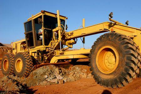 Heavy construction equipment photo