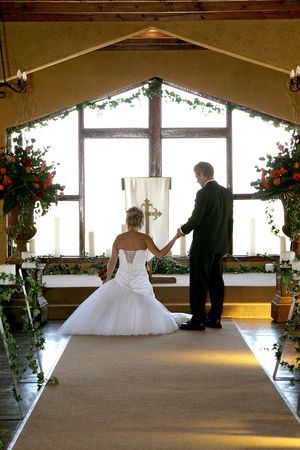 Young bride on her wedding day with her husband Stock Photo - 1142302