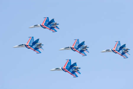 pilotage: Aerobatic team - Russian Knights- SU27