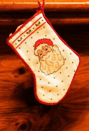 Christmas stockings photo
