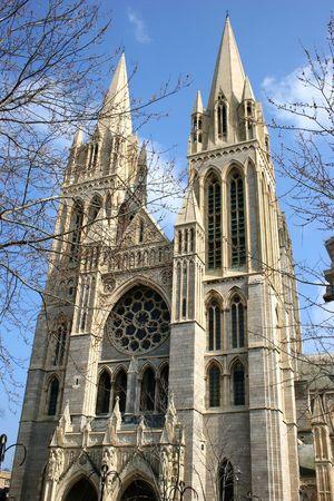 prayer tower: Truro fronte Cattedrale  Archivio Fotografico