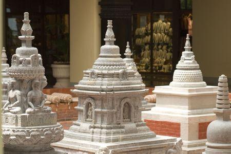 Nepal, Kathmandu, Buddhist temple. Stock Photo - 542511