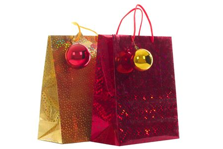 thrifty: shopping bags holiday design