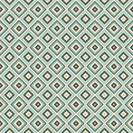rhombus: seamless geometric pattern mint color