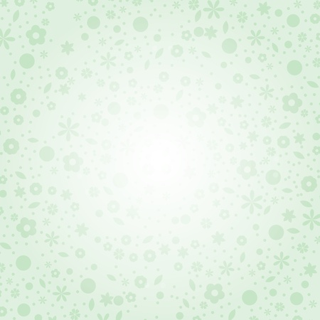 romance image:  Floral green background.