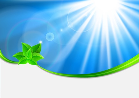 Eco-friendly abstract background Stock Vector - 16911758