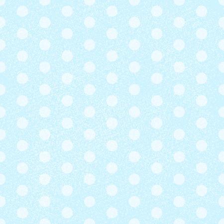 polka dot fabric: Blu Polka Dot tessuto di fondo che � senza soluzione di continuit� e si ripete. Illustrazione vettoriale Vettoriali