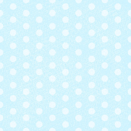 Blue Polka Dot Fabric Background that is seamless and repeats. Vector illustration Vector