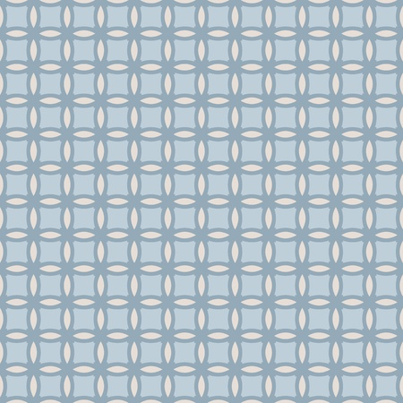 Blue and pale seamless geometrical pattern Vector