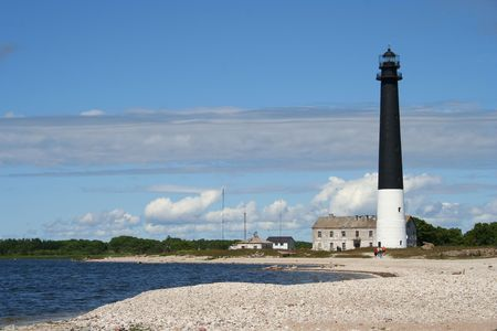 A lighthouse in Estonia Saaremaa