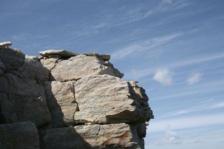 limestone: Limestone rock
