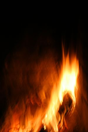 Abstract flames Stock Photo