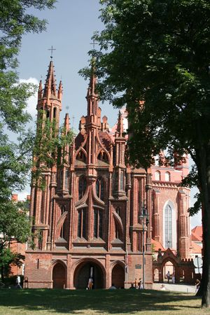 St Anne s Church in Vilnius, Lithuania