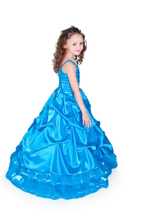The image of the girl in a beautiful dress Stock Photo - 9715876